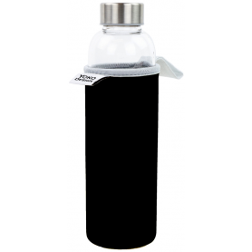 "BOUTEILLE 500ML ""GLASS BOTTLE"" NOIRE YOKO DESIGN 1643/8810"