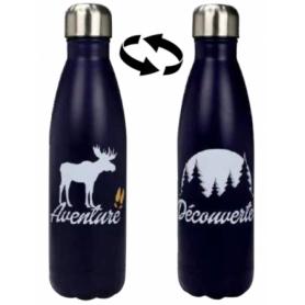 "Bouteille isotherme ""Alaska"" 500 ml - 1 design Bleu - Duck'n"