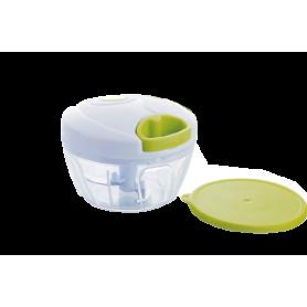 """Mini hachoir manuel 2 lames - coloris vert Diam. 12,5cm / Haut, 9,3cm - """"BEST OFFER !"""" - Ard'time"""