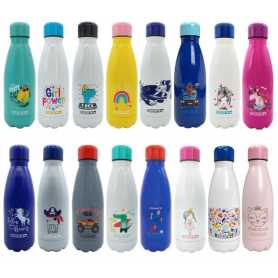 """BOUTEILLE ISOTHERME """"RENTREE"""" DUCK'N 350ML - 16 DESIGNS ASSORTIS"""