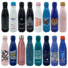 """BOUTEILLE ISOTHERME """"RENTREE"""" DUCK'N 500ML - 16 DESIGNS ASSORTIS"""